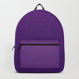 Mei Skin Heliotrope Pattern Backpack