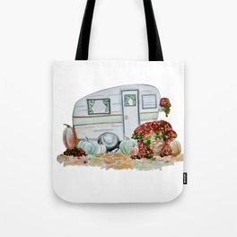 Happy Fall Glamper Tote Bag