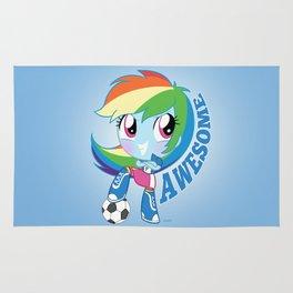Cute Equestria Girls - RainbowDash Rug