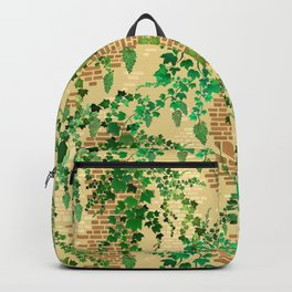 Tuscan Garden Wall Backpack
