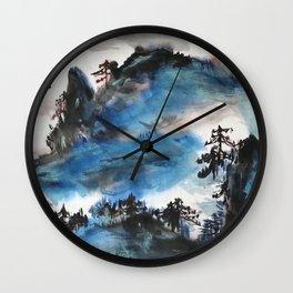 AU 52 - Beautiful Scenery Wall Clock