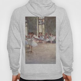 Ballet Rehearsal 1873 By Edgar Degas | Reproduction | Famous French Painter Hoody