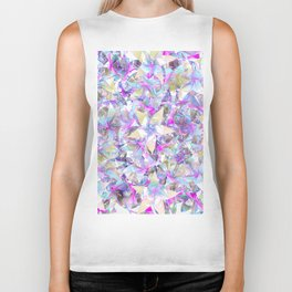 Flower beauty Biker Tank