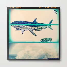 radio shark Metal Print