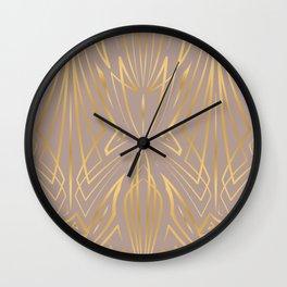 Pinstripe Pattern Creation XXXI Wall Clock