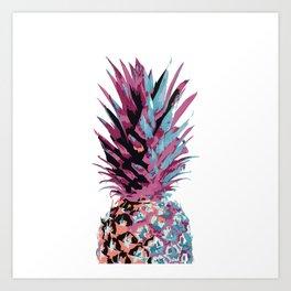 Pop Pineapple Art Print