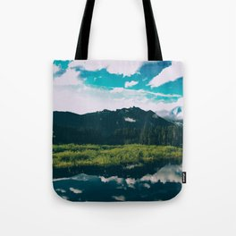 North Cascades Hidden Lake Tote Bag