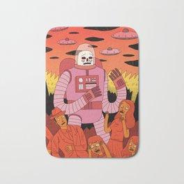 Alien Invader Bath Mat