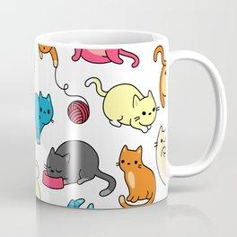 Meow Mix - Cat Pattern Coffee Mug