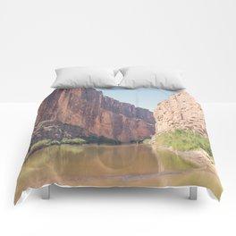 Santa Elena Canyon Comforters