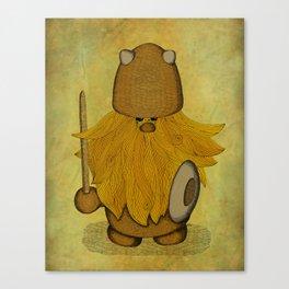 Hirsute Viking Homunculus Canvas Print