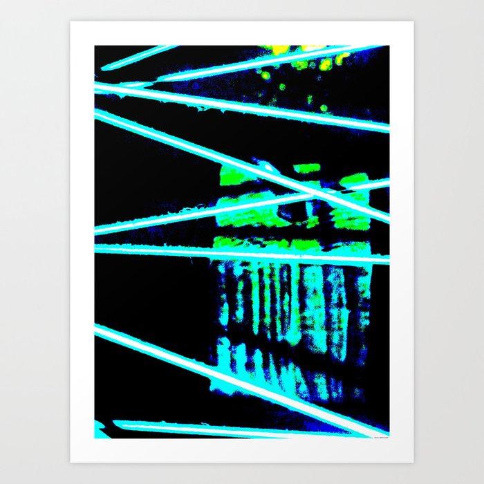 """Bike Wheel Three"" Art Print"