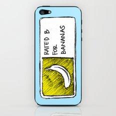 B for Bananas iPhone & iPod Skin