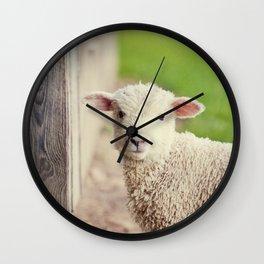 Little Lamb I Wall Clock