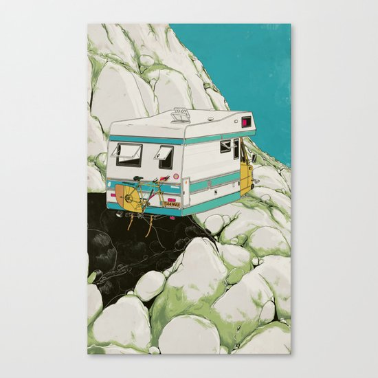 Heading South Canvas Print