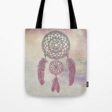 Double Dream Catcher (Rose) Tote Bag