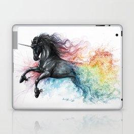 Unicorn dissolving Laptop & iPad Skin