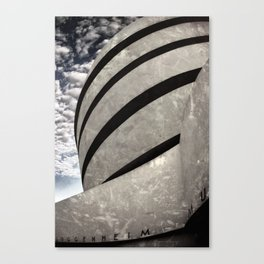 Guggenheim Museum | New York [Sky cut 441] Canvas Print