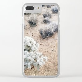 Desert Flora Clear iPhone Case