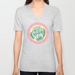Mermaid Badge Unisex V-Neck