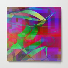 organic digital too Metal Print
