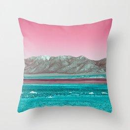 Colourful Skies Throw Pillow
