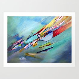 The gift of the unknown Art Print