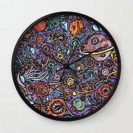Colourful Ocean Big Bang Wall Clock