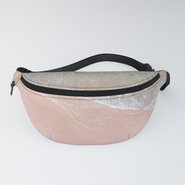 waves on the shore Fanny Pack