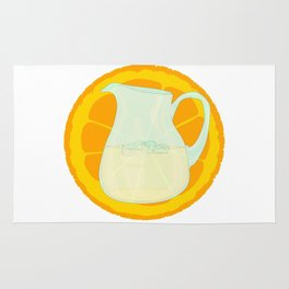 Cool Orangeade Rug