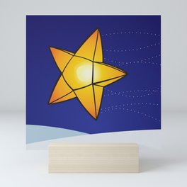 Star Shaped Lantern Mini Art Print