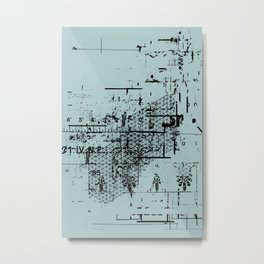 USELESS POSTER 6 Metal Print