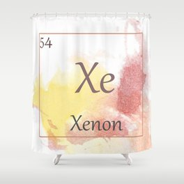 Elementals: Xe Shower Curtain