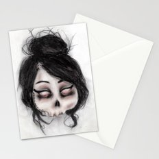 The inability to perceive with eyes notebook II Stationery Cards