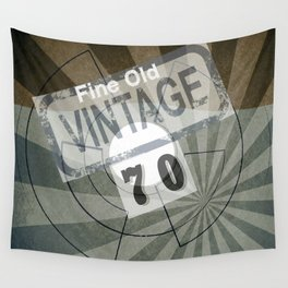 Fine Old Vintage 70 Wall Tapestry