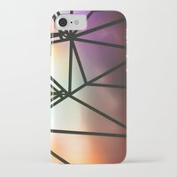 one line iPhone & iPod Cases featuring Line One by Jillian VanZytveld