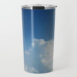 Cumulonimbus Clouds and Stars Travel Mug