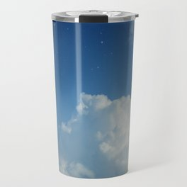 Cumulonimbus Clouds and Stars Travel Mug