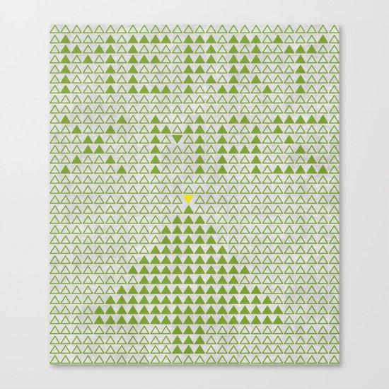 triangular wishes Canvas Print