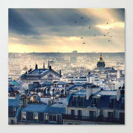 Rooftops in Paris Canvas Print