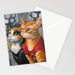 Cat Gordon and Dale Purrden Stationery Cards