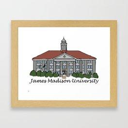 JMU Framed Art Print