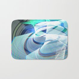 Smooth light art photography Bath Mat