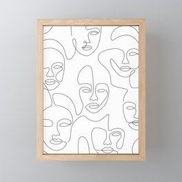 Beauty Portraits Framed Mini Art Print