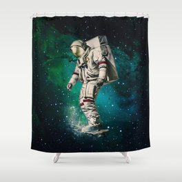 Space Ride Shower Curtain