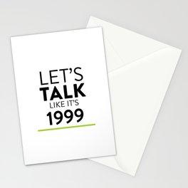 Let's Talk Stationery Cards