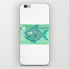 Happy Fish!!!! iPhone Skin