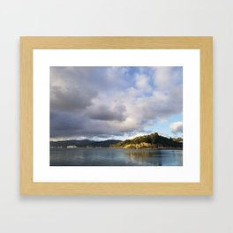 The Mouth of Andersons Bay Framed Art Print