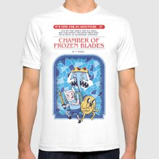 It's Time For An Adventure! Mens Fitted Tee White MEDIUM