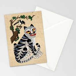 Minhwa: Tiger and Magpie B Type Stationery Cards